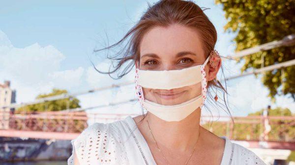 Le Masque Sourire ® Odiora permet la lecture labiale pour les malentendants