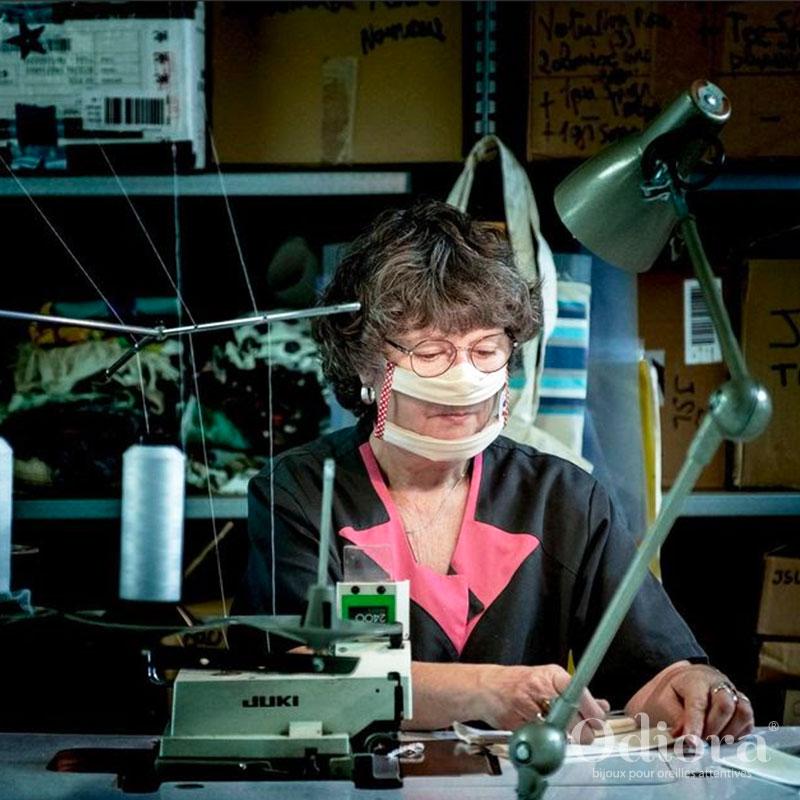 Découvrez l'histoire des masques transparents Sourire Odiora, fabriqués en France de manière inclusive !