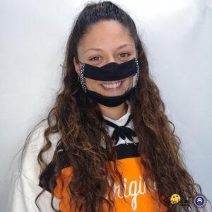 Masque Sourire, un masque inclusif tendance au allure tout naturel Oeko tex, protection contre le Covid 19 validé par la DGA, UNS avec fenetre transparentes pour aider la lecture labiale des malentendants